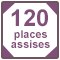 120 places assises